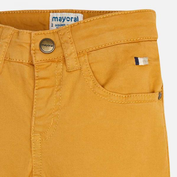 Spodnie chłopięce miodowe 509 Mayoral