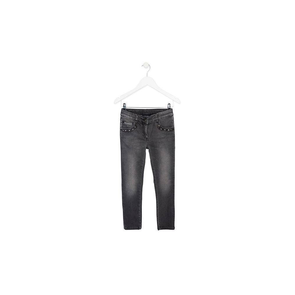 Spodnie dziewczęce jeansowe Losan 724-6034AB