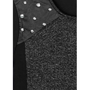 Sukienka w stylu rockowym Losan 724-7790AB