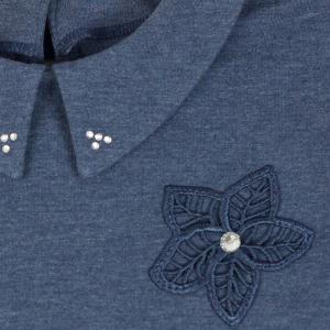 Bawełna bluzeczka z kołnierzykiem Ida Al-Da