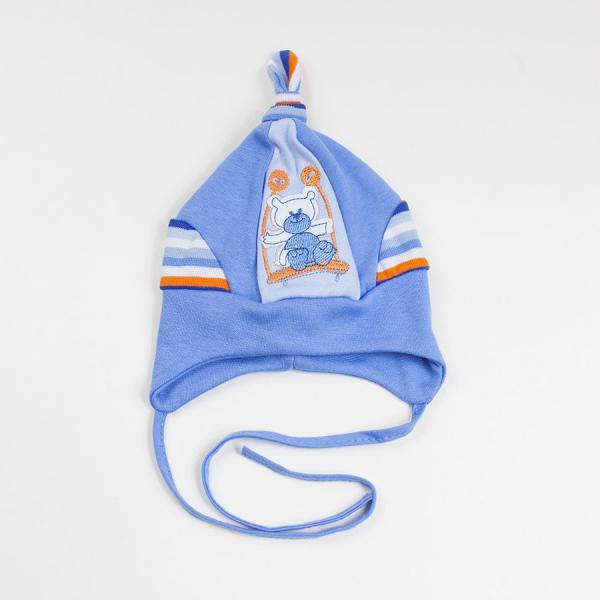 Niemowlęca czapka wiązana Huśtawka