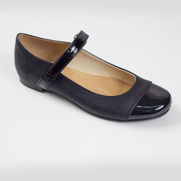 Czarne baleriny KMK195C