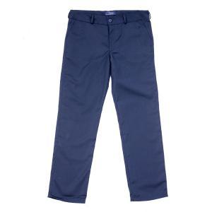 Granatowe spodnie wizytowe