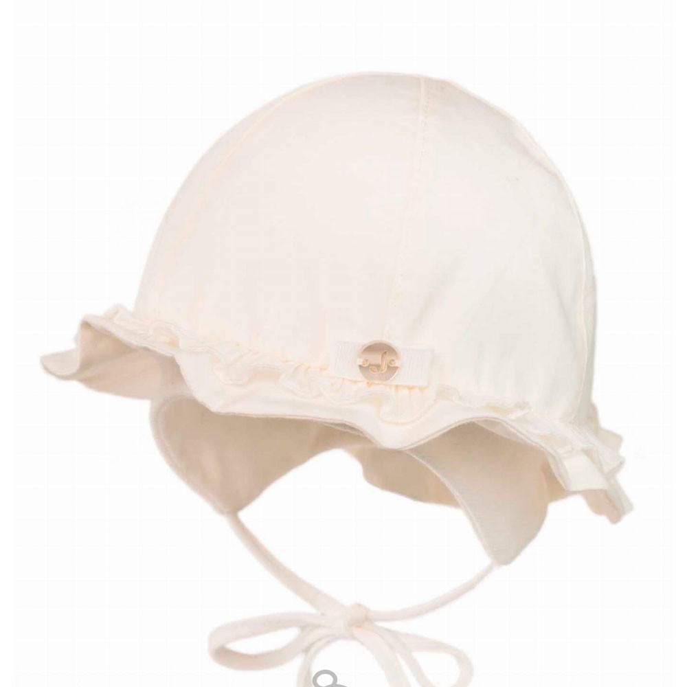 Kremowy niemowlęcy kapelusz Marita Jamiks