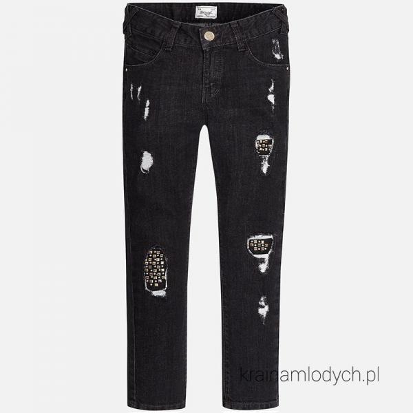 Spodnie dziewczęce jeansowe 7540