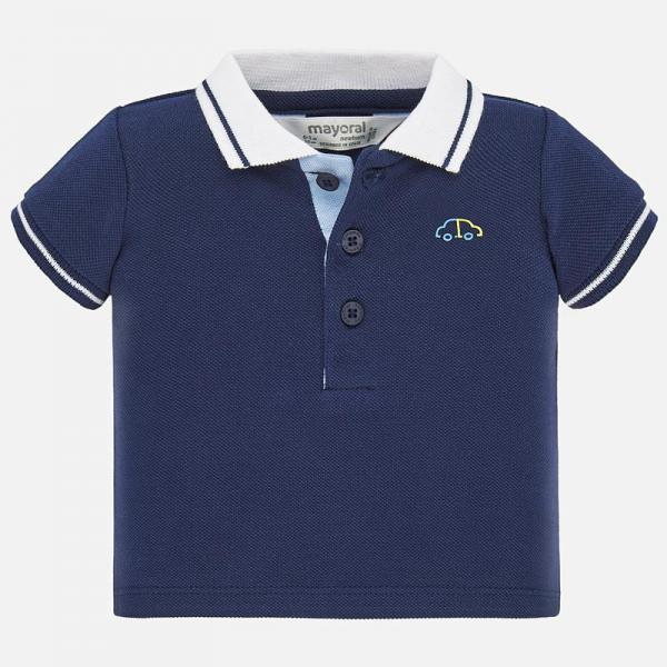 Granatowa koszulka polo 190 Mayoral