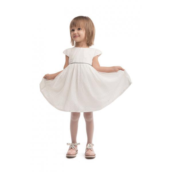 Białe rajstopy dziecięce Knittex Alunia 20 den