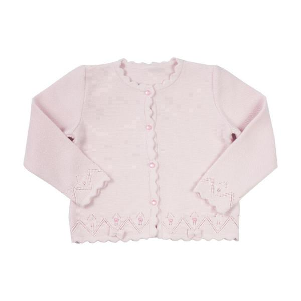 Eleganckie bolerko sweterek różowy Barbaras 74