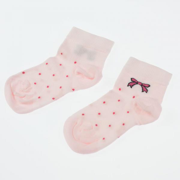 Skarpetki wiosenne c05 różowe