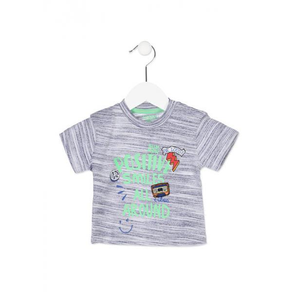 Koszulka chłopięca Losan 817-1019ac