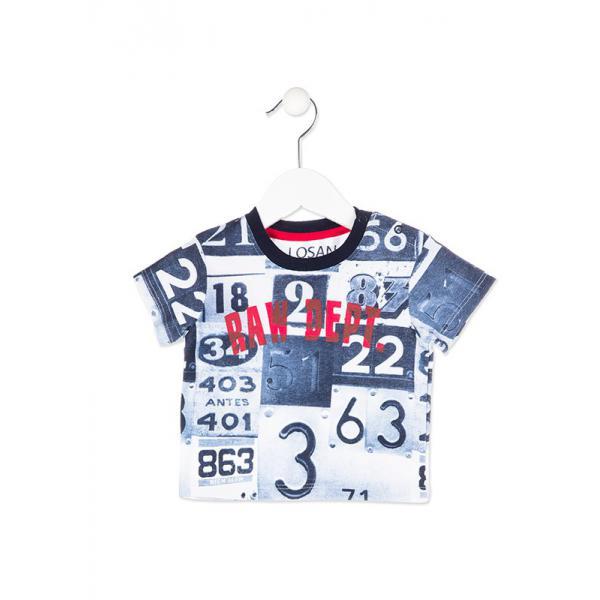 Koszulka chłopięca Losan 817-1011ac
