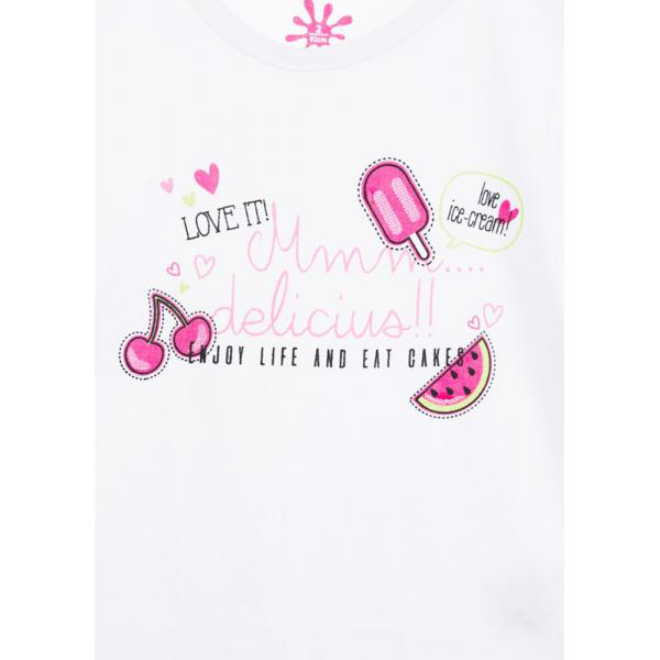 Koszulka dla dziewczynki Losan 816-1301ad