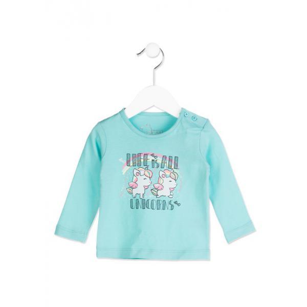 Bluzka z długim rękawem dla dziewczynki Losan 818-1302ad