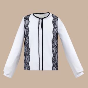 Bluzka Adriana - biało czarna