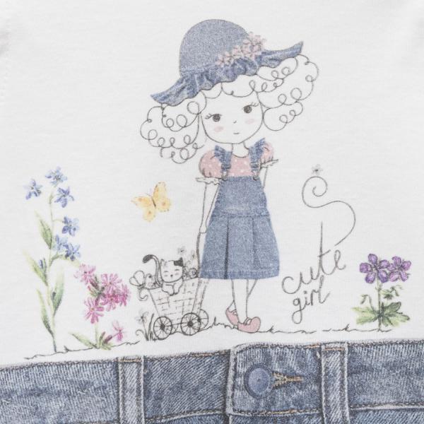 Bawełniana sukienka niemowlęca Sevil
