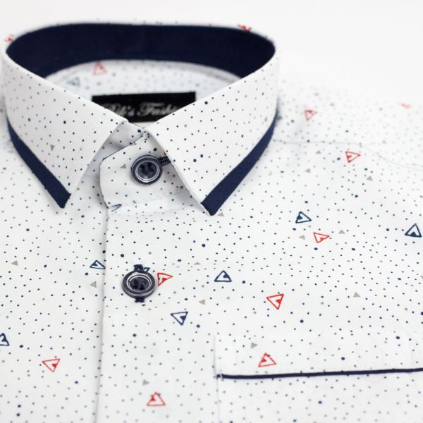 Wizytowa koszula wzór 4t BIKS
