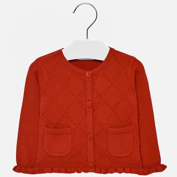Czerwony sweterek 2340 Mayoral