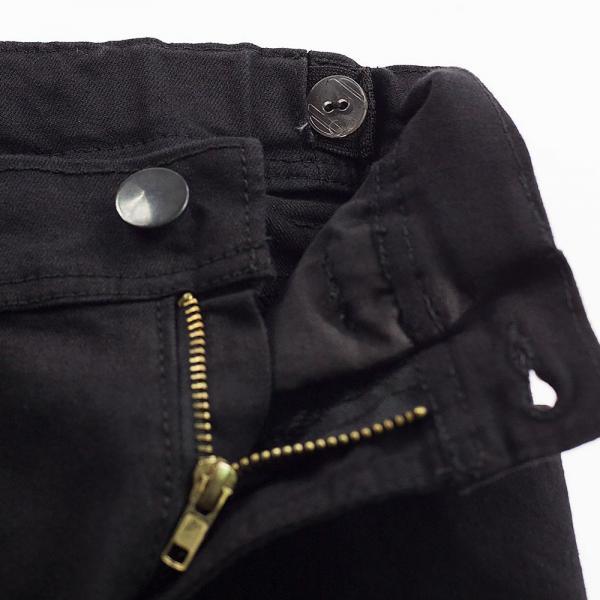 Spodnie rurki chłopięce czarne 050-23 Ratex