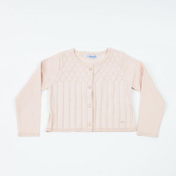 Bolerko sweterek różowy 4326 Mayoral