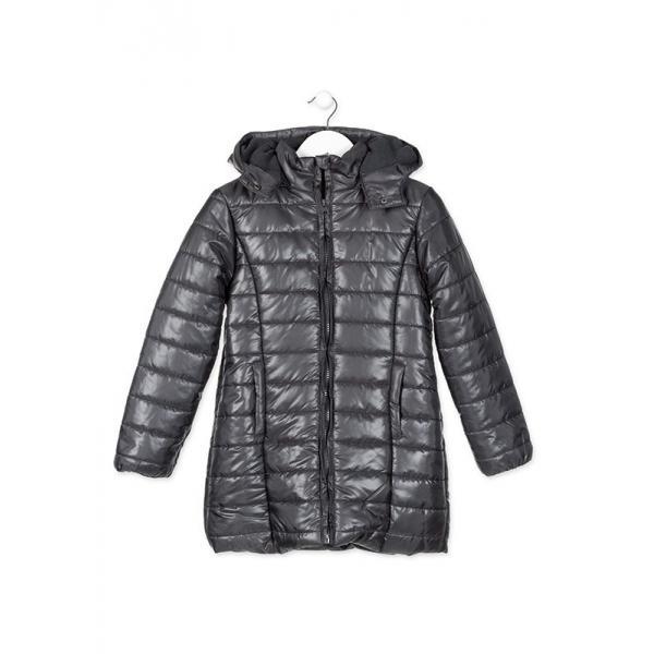 Płaszcz dziewczęcy zimowy Losan 824-2651AB