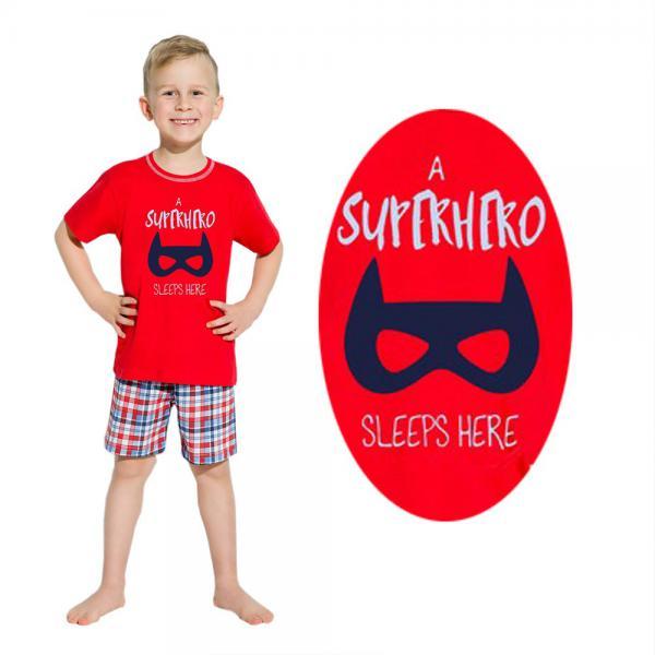 Piżama chłopięca Damian czerwona