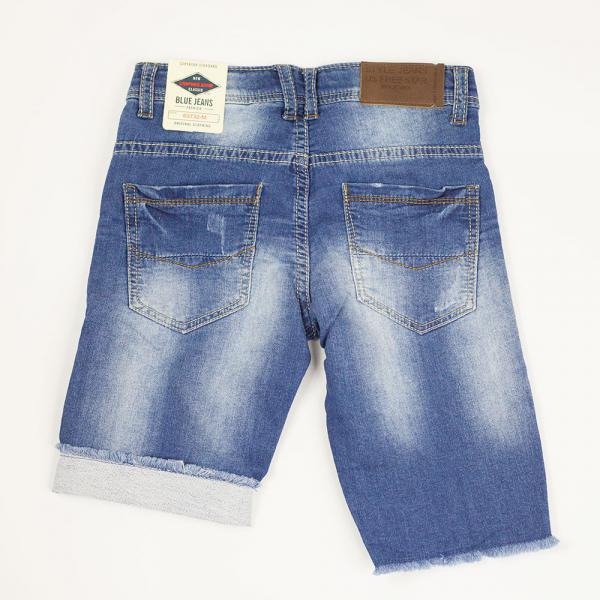 Bermudy jeansowe chłopięce 63732