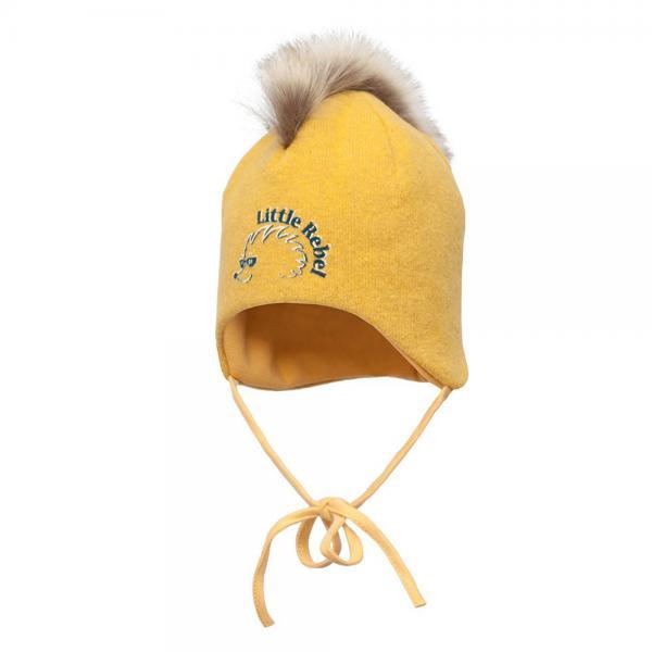 Wiązana czapka z irokezem Eddie Broel