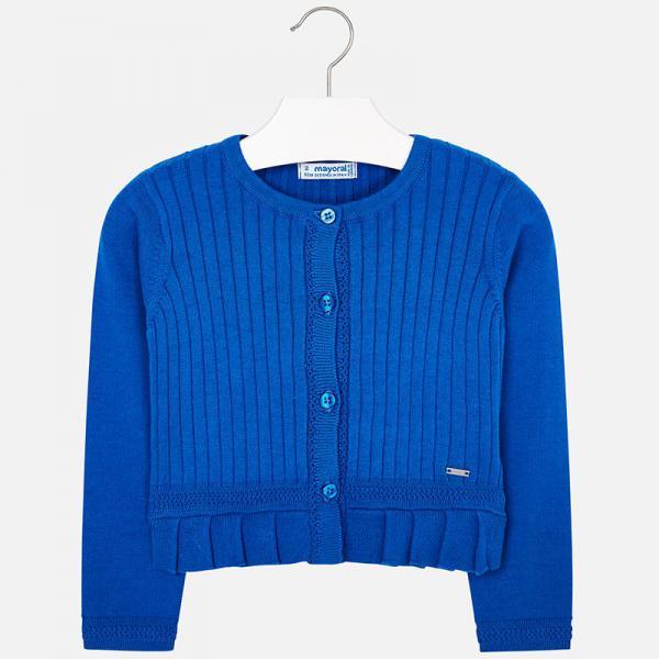 Bolerko sweterek niebieski 3303 Mayoral