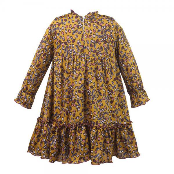 Zwiewna kwiatowa sukienka Al-Da Tesia