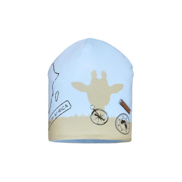 Przejściowa czapka chłopięca niebieski CU57/C  SAFARI  Barbaras