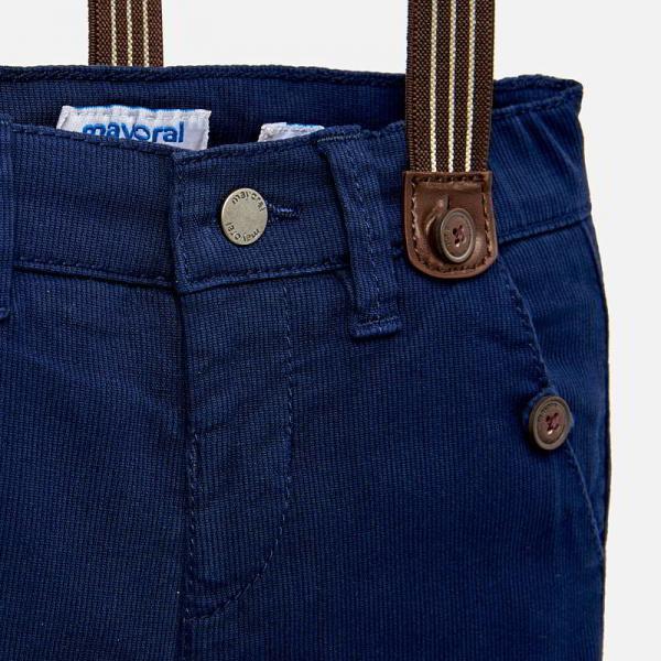 Spodnie niemowlęce z szelkami 1524 Mayoral