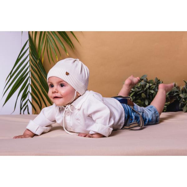 Bawełniana czapka niemowlęca Cyprian Jamiks