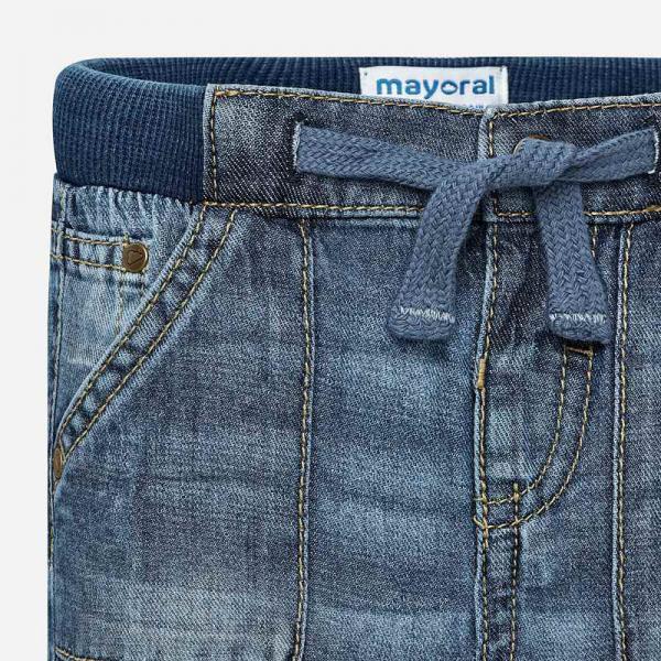 Mięciutkie spodnie jeansowe 500 Mayoral