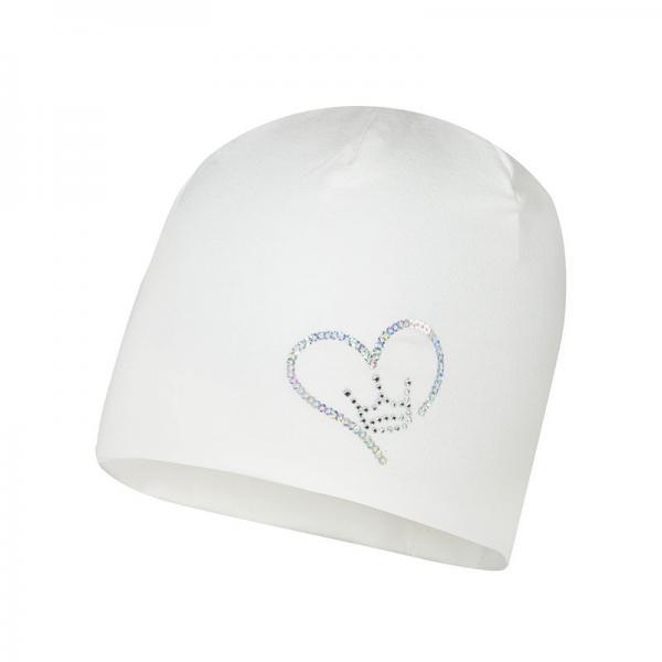Przejściowa kremowa czapka niemowlęca Naira Broel
