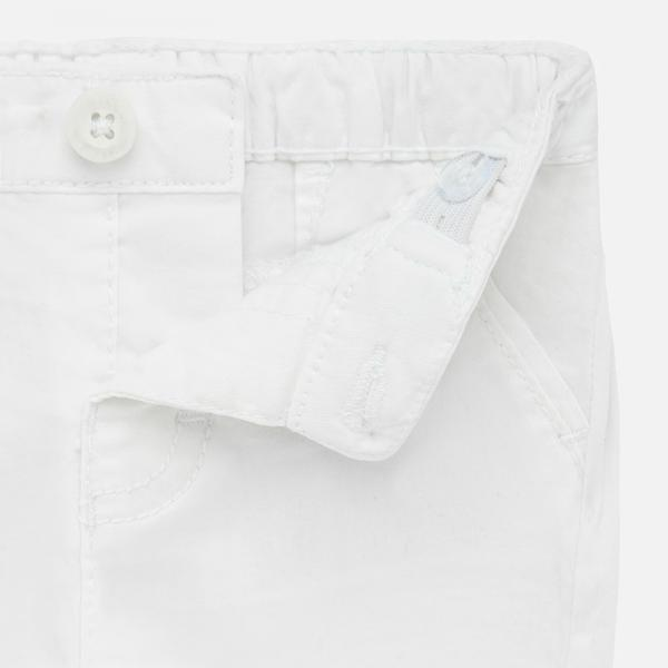 Białe elegancki spodenki chłopięce 201 Mayoral