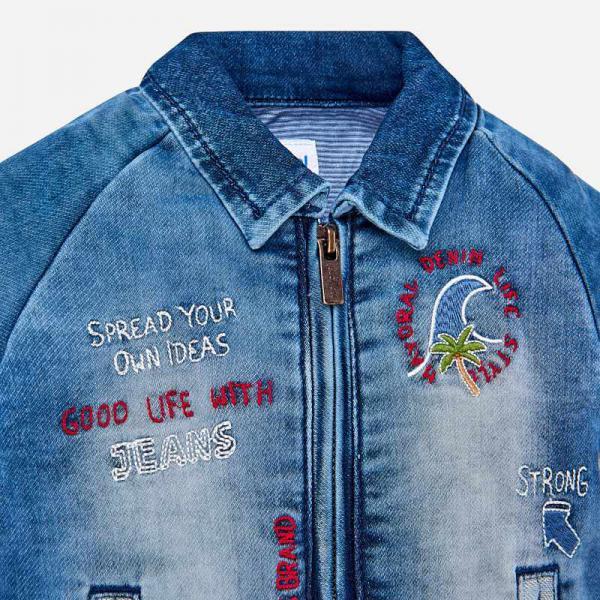 Jeansowa kurtka chłopięca 1430 Mayoral