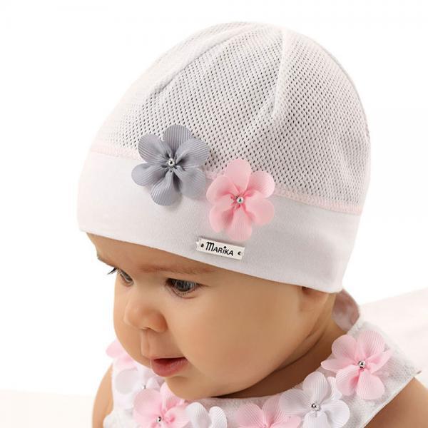 Niemowlęca czapka  Justynka Marika ML-2745