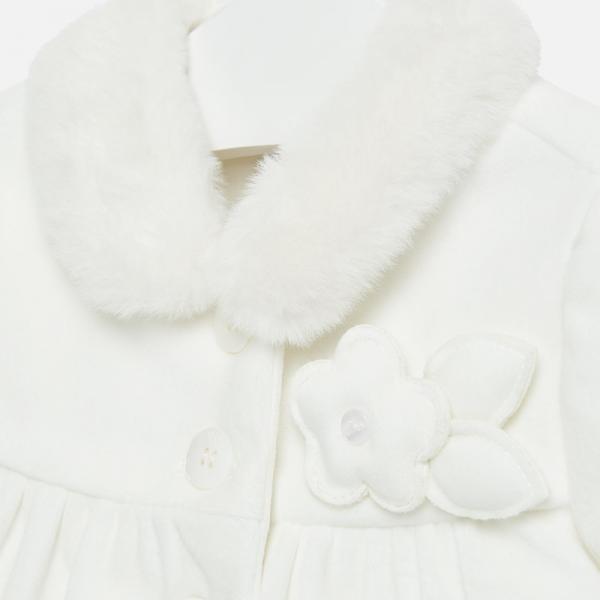 Aksamitny płaszczyk niemowlęcy 2408 Mayoral