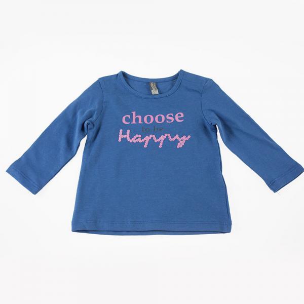 Bluzka z długim rękawem dla dziewczynki Losan 928-1202AA
