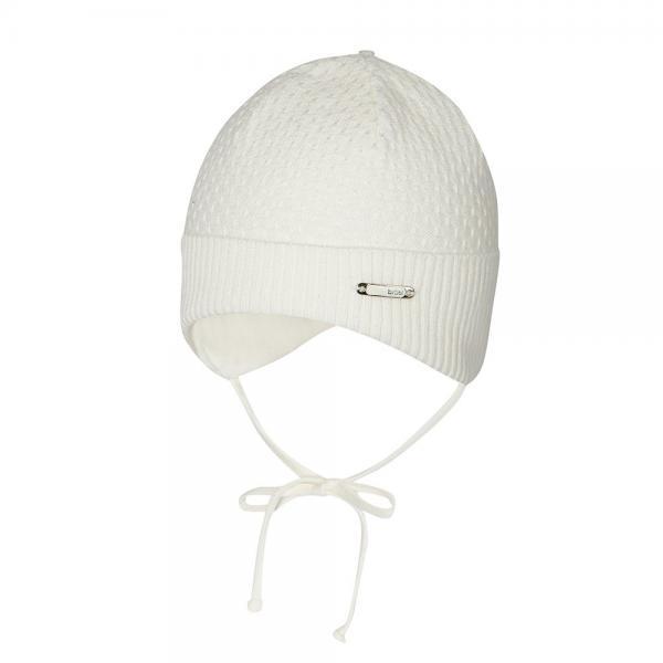 Kremowa czapka niemowlęca Amerigo Broel