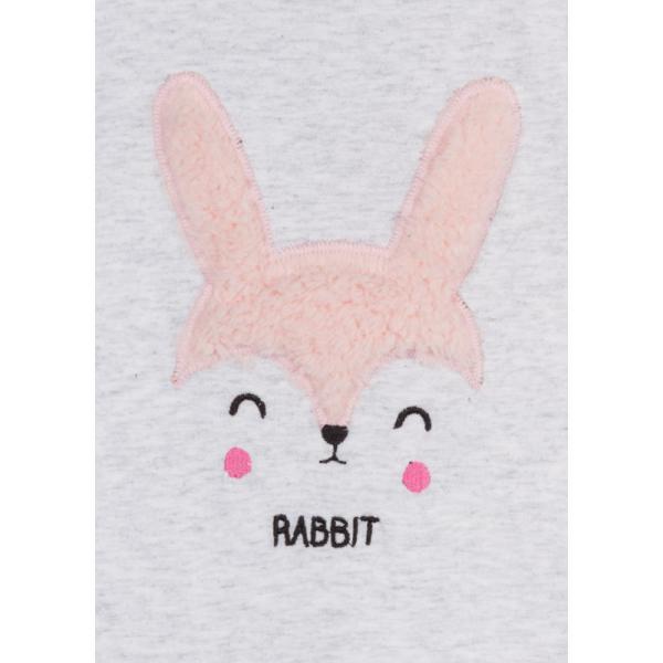 Bluzka z długim rękawem dla dziewczynki Rabbit Losan