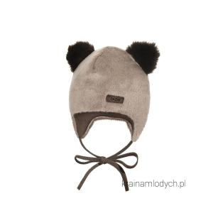 Futrzana czapka dla dziecka dron