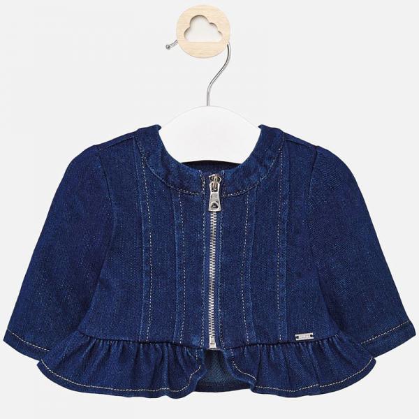 Wiatrówka jeansowa dla dziewczynki 1444 Mayoral