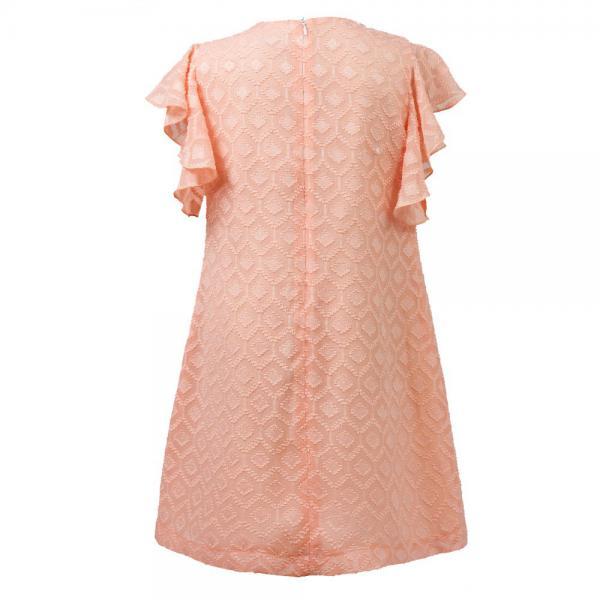Stylowa sukienka z falbanką Paula  Al-Da