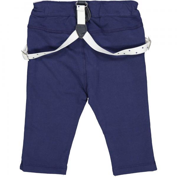 Spodnie niemowlęce z szelkami 82002 Birba