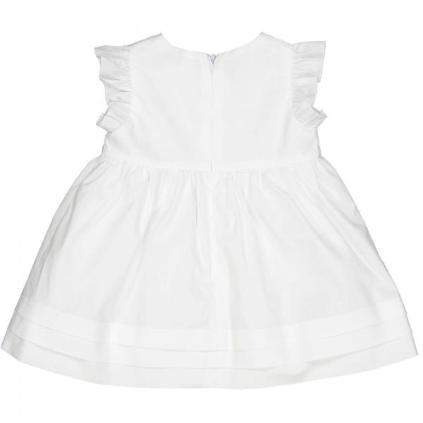 Niemowlęca biała sukienka 85308 Birba