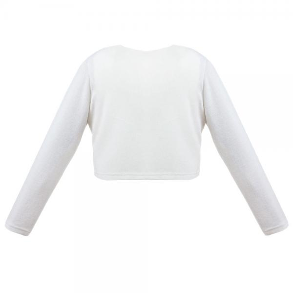 Kremowe bolerko sweterek Atena
