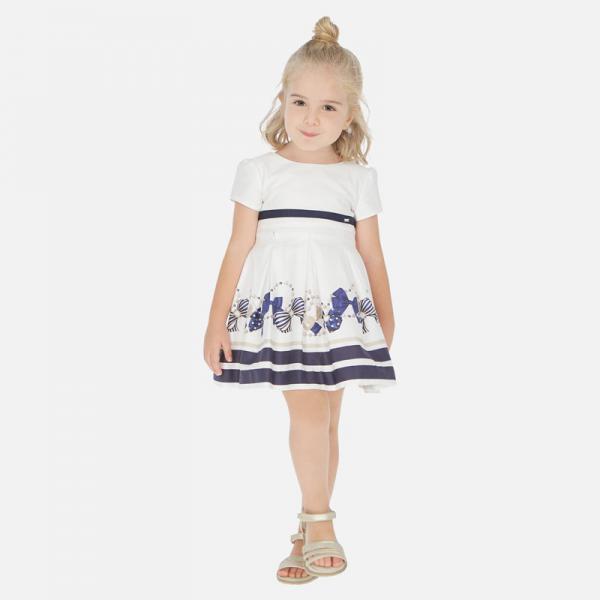 Elegancka sukienka z nadrukiem 3925 Mayoral