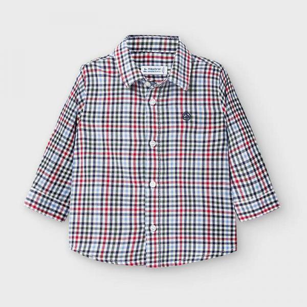 Koszula chłopięca w kratkę 2142 Mayoral
