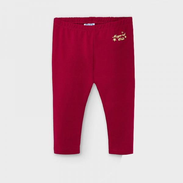 Czerwone legginsy basic długie 702 Mayoral